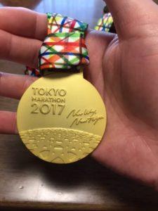 東京マラソン完走メダル!これが欲しかった!!
