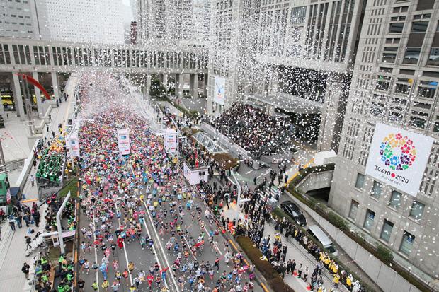 東京新宿東京マラソン初当選倍率高いランナー全国完走メダル